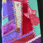 Crazy Patchwork Notebook Cover
