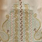 Dorset Feather stitchery