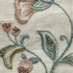 Flower detail from the Guild's banner