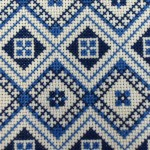Folk design cross stitch