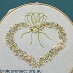 Heart of Silk Ribbon Roses