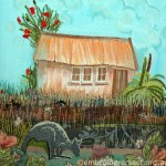 Westland Hut by Lyn Baldwin