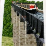 Cross Stitch of Pontcysyllte Aqueduct