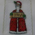 Santa X-stitch