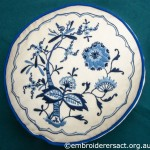 Swedish Embroidery Cushion