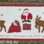Xmas embroidery