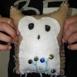 Owl feltie