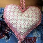 Chicken Scratch Heart