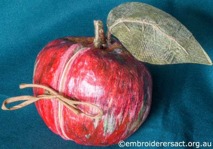 Apple Soft Sculpture