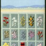 Stitched Australian Landscape and Flora