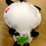 Back of Pandy the Panda