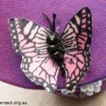 Butterfly on Toadstool