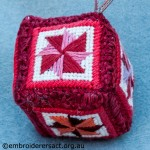 Embroidered Xmas Decoration