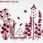 Redwork Embroidery