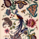 Crewel Bird & Flowers