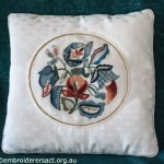 Crewel Cushion