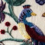 Crewel Bird