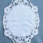 Cutwork Whitework embroidery