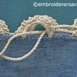Needlelace detail