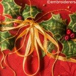 Detail of Christmas Wreath