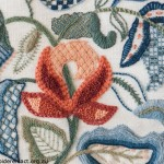 Detail of Crewelwork