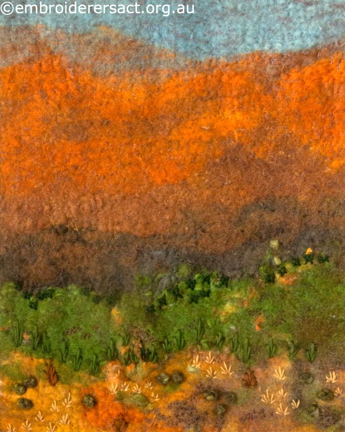 Stitched landscape of Flinders Ranges