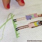 Cross Stitch in Progress