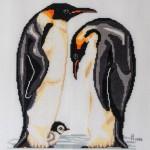 Penguin X-stitch