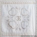 Quilt detail 1 by Glenda Hudson