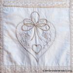 Quilt detail 2 by Glenda Hudson