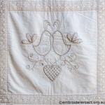 Quilt detail 9 by Glenda Hudson