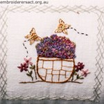 Square from Stitchery Cushion