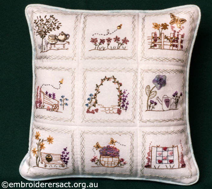 Stitchery Cushion