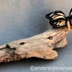 Stumpwork butterfly