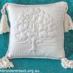 Trapunto Cushion