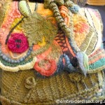 Decorated Wool Bag
