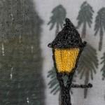 Detail 2 of Narnia stitchery