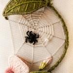 Stumpwork spider