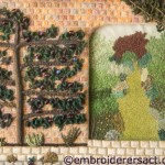 Stitched Wall Garden