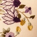 Crewel Embroidery Cushion