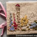 Flower Garden Needlecase